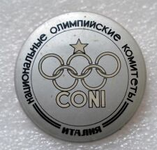 ITALY Official Emblem 1984 Summer Olympic Games Los Angeles Olympiad