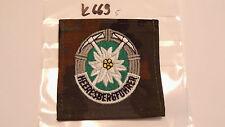 Bundeswehr Abzeichen Heeresbergführer auf Tarn 1Stück (k669)