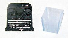 Dollhouse Miniatures Combo, Manual Typewriter & Office Trash Basket