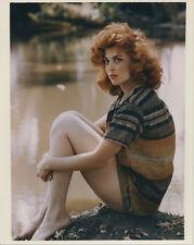 Tina Louise vintage 8x10 glamour pose leggy shot 1960's