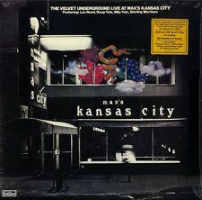 THE VELVET UNDERGROUND LIVE AT MAX'S KANSAS CITY DOPPIO VINILE LP 180 GRAMMI