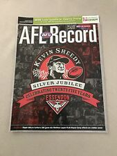 AFL 2005 Football Record Kangaroos V Western Bulldogs Round 8