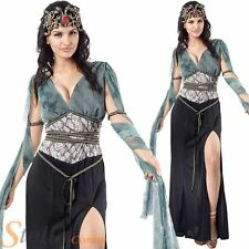 Ladies Medusa Greek Myth Goddess Queen Halloween Fancy Dress Costume Outfit