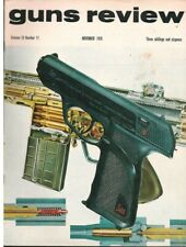 GUNS REVIEW November 1970 - Birmingham Proof House, Rifles, Airguns, Shooting