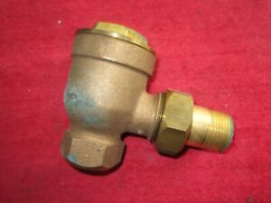 VINTAGE NOS HOFFMAN 18C 3/4 x 3/4 ANGLE PATTERN THERMOSTAT TRAP 33-20299