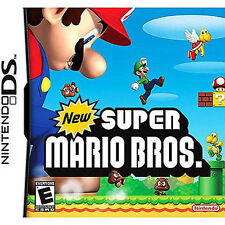 New Super Mario Bros Version GAME ONLY TEST GOOD WORKING US seller Fast ship