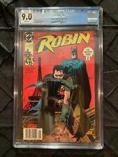 Robin #1 • Newsstand Edition Second Printing • 1991 DC Comics • CGC 9.0