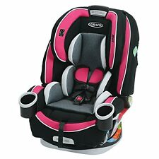 Graco 4Ever All in One Convertible CAR SEAT, InRight Latch BABY CAR SEAT, Azalea