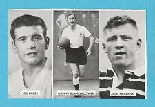 FOOTBALL - D.C. THOMSON -  CUP - TIE  STARS  OF  ALL  NATIONS  CARD  (F) -  1962