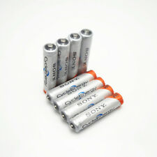 4Pcs Original NI-MH AAA HR03 3A Rechargeable Batteries 1.2V 4300mAh for Sony