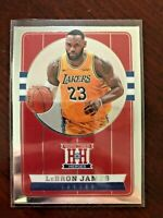 2019-20 Panini Chronicles LeBron James - Lakers  Hometown Heroes SP