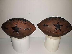 "Dallas Cowboys NFL Wilson Mini Football 9"" x 5"" ( set of two )"