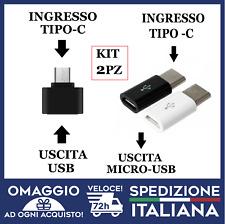 OTG TIPO C Type-C USB 3.1 To USB Plug OTG Adattatore Dati Cavo Cellulare 🇮🇹