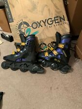 Oxygen 2 Inline Skates Roller Blades 28.5 10.5