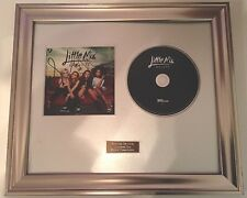 PERSONALLY SIGNED/AUTOGRAPHED LITTLE MIX -SALUTE FRAMED CD PRESENTATION.X FACTOR