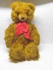 MES-37783Älterer Plüsch Teddy L:ca 48cm,Plüsch mit Holzwollstopfung,