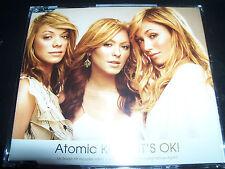 Atomic Kitten It's Ok (Includes Megamix) Australian CD Single