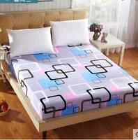 modern Single Double Queen King Size Bed Fitted Sheet La