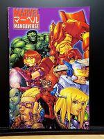 NEW Marvel (April 2002) MANGAVERSE TPB 1st Printing - East Meets Marvel!