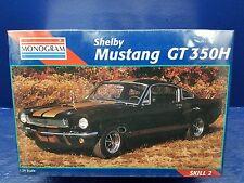 MONOGRAM FORD MUSTANG FASTBACK GT-350H SHELBY HERTZ 1/24