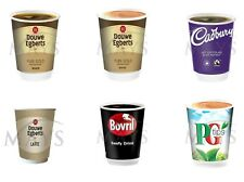 More details for 60 hot cups 2go core 12oz incup foil sealed drinks nescafe &go compatible coffee