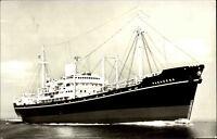 Schiffsfoto Echtfoto-AK 1969 Frachtschiff M/S PASADENA AK gelaufen ab Frankreich
