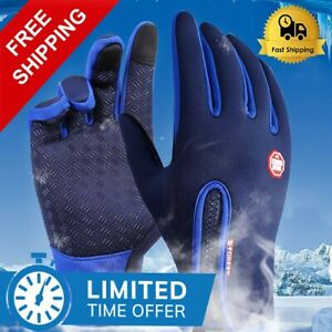 Waterproof Anti-slip Breathable Fishing Gloves Full Finger Durable Cycling NEW
