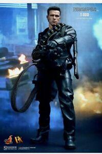 HOT TOYS MOVIE MASTER PIECE DX TERMINATOR T2 T-800 1/6 Schwarzenegger FIGURE