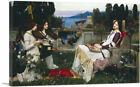 ARTCANVAS Saint Cecilia 1895 Canvas Art Print by John William Waterhouse