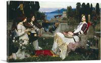 ARTCANVAS Saint Cecilia 1895 Canvas Art Print by John William Waterhouse