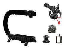 Scorpion Jr + Rode Video MICRO BUNDLE - Camera Shotgun Mic for Canon Nikon