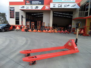 Extra Long Pallet Jack (1.8m)- 2500kg - Best Seller, Great value, our factory !!