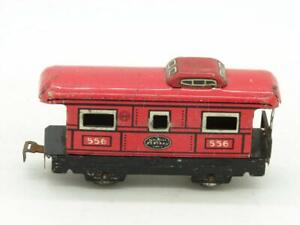 Marx Trains 556 New York Central Caboose with Rivet Tab Coupler