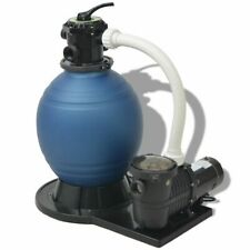 Sand Filter with Pool Pump 18 inch 1 Hp 4740 Gph