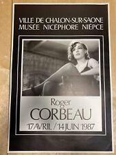 SIMONE SIGNORET – ROGER CORBEAU– AFFICHE ORIGINALE  - 1987 / MUSÉE NIEPCE