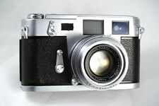 Serviced Aires 35 III C Rangefinder Camera H Coral 4.5cm 1.9 Lens 6elements iiic