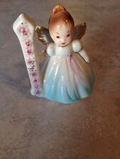 1st Year Birthday Girls by Josef Originals Porcelain Figurine w/Sticker Euc