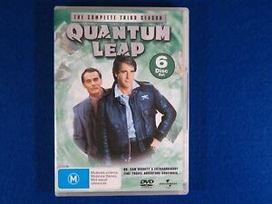 Quantum Leap Season 3 - DVD - Free Postage !!