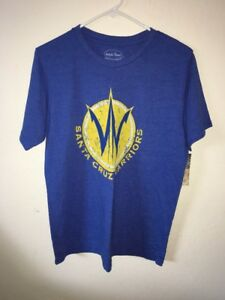 Majestic Threads Santa Cruz / Golden State  Warriors Tee Size M