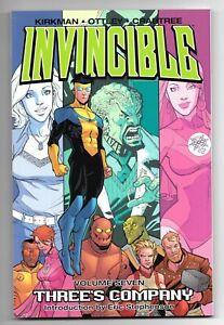 Invincible Vol 7 Three's Company TP TPB (2006) First Printing SC Brand New Condi