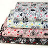 Japanese Kokka Cotton Fabric Retro Vintage Alice in Wonderland By 1/2 yard