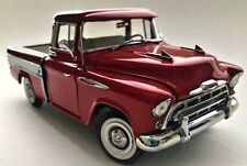 1 1950s Chevy Pickup Truck Sport Vintage Classic 1957 Car Carousel Red Metal 18