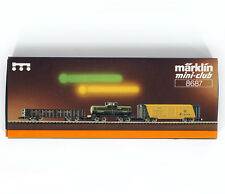 Marklin Mini-Club 8687 Z Alaska Railroad 3 Car Set , New , Nue , Nueue