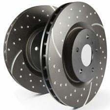 EBC Rear Turbo Groove / GD Sport Rotors Brake Discs (Pair) - GD1439