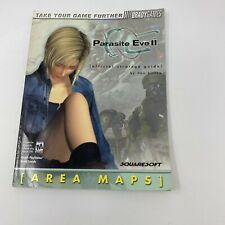Parasite Eve II 2 Official Strategy Guide Brady Games Squaresoft Playstation