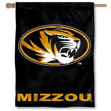 Missouri Tigers Mizzou University College House Flag