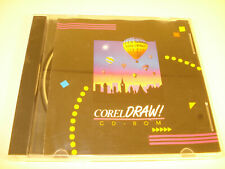 Corel Draw 3.0 CD-ROM vintage software  near mint unused
