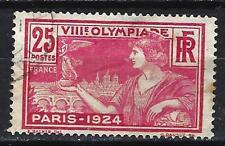 France 1924 JO de Paris Yvert n° 184 oblitéré 1er choix (3)