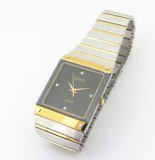 Rado Diastar Jublie Steel Gold Diamond Dial Wrist Watch 132.0155 3 - NO RESERVE