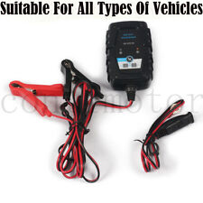 Portable Car Battery Maintainer Charger 12V 1A Portable Auto Trickle Boat Motor